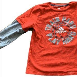 ⭐️Adidas Boys Long Sleeve Shirt (7)
